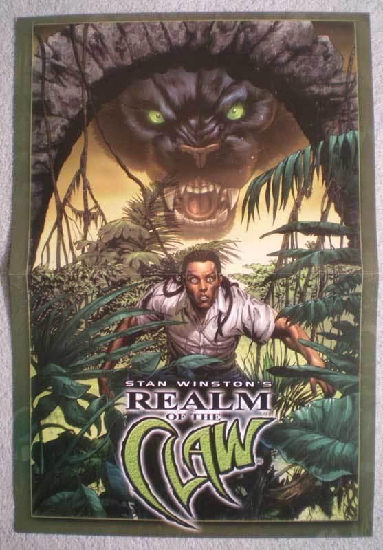 REALM OF THE CLAW Promo poster, 11x16, Unused, more in our store
