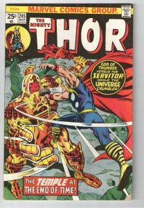 KANG!!! THOR 245 VG/F 1st APPEARANCE HE WHO REMAINS!