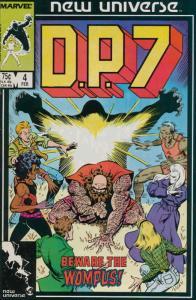 D.P.7 #4 FN; Marvel | save on shipping - details inside