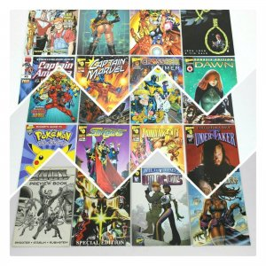 #0 WIZARD WORLD Comics Mixed Lot of 20 issues
