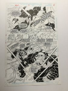Venom Along Came A Spider Original Art Pg 6 1/2 Splash Joe St. Pierre Spider-man