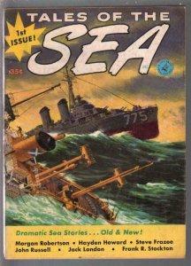 Tales Of The Sea #1 Spring 1953-1st issue-Jack London-Steve Frazee-C Doore-VF-