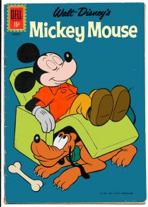 MICKEY MOUSE #82 (Feb1962) * Dell Comics * 6.0 FN  • Paul Murry! Tony Strobl!