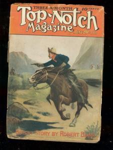 TOP-NOTCH JUNE 20 1914 STREET &  SMITH COWBOY-INDIANS FR/G