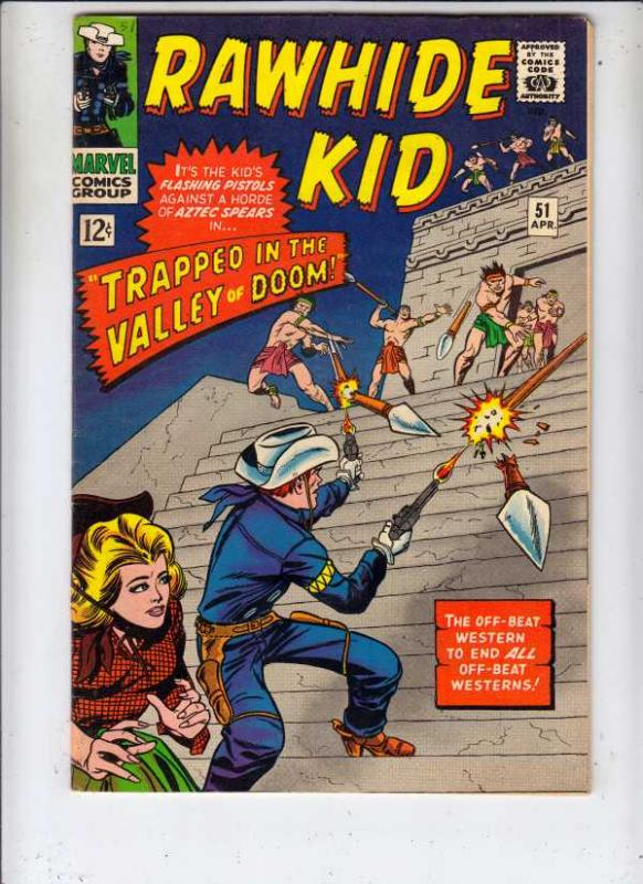 Rawhide Kid #51 (Apr-66) VF- High-Grade Rawhide Kid