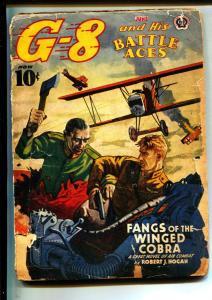 G-8 And His Battle Aces-Pulps-6/1941-Robert J. Hogan-Greaseball Joe