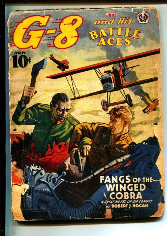 G-8 And His Battle Aces-Pulps-6/1941-Robert J. Hogan-Greaseball Joe