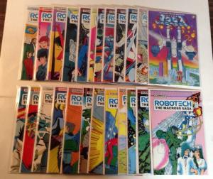 Robotech The Macross Saga 1-36 VF/NM Most NM Missing #4 7 9-15 17-19