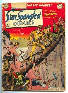 Star Spangled Comics #98 1949- Tomahawk- Robin- Batman Cameo G-