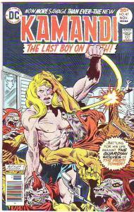 Kamandi the Last Boy on Earth #47 (Nov-76) NM Super-High-Grade Kamandi