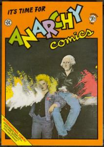 ANARCHY COMICS #2, FN, Underground, Last Gasp, 1979, Kinney