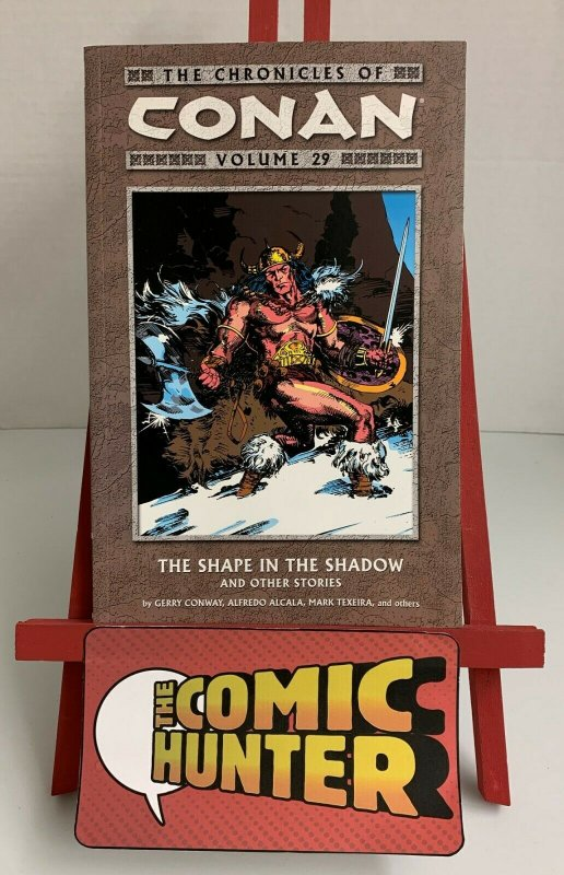 The Chronicles of Conan Vol. 29 The Shape in the Shadow Paperback