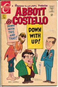 Abbott and Costello #1 1968-Charlton--Scarpelli cover-Hanna-Barbera-G