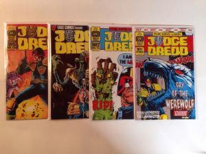 Judge Dredd 1 2 3 5 Near Mint Lot Set Run Quality Comics