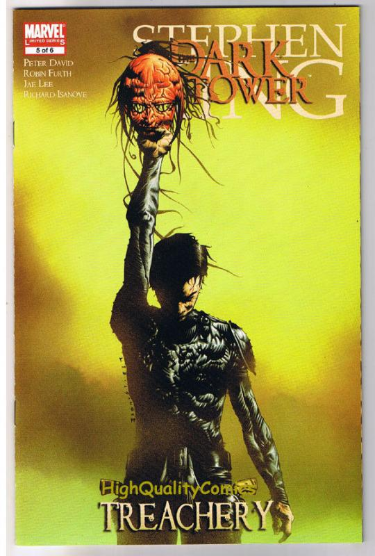 Stephen King DARK TOWER TREACHERY 5, NM+, Gunslinger, 2008, more SK in store