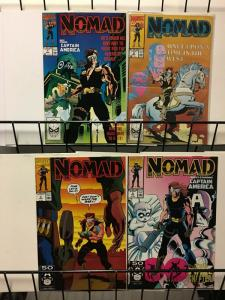 NOMAD 1-4 with CAPTAIN AMERICA complete mini-series!