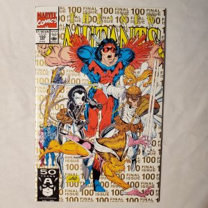 New Mutants #100 2nd Print VF/Near Mint
