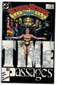 WONDER WOMAN #8 Barbara Minerva / Cheetah 1987 DC comic book