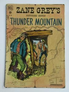 ZANE GREY'S THUNDER MOUNTAIN #FC246 (Dell,9/1949)  GOOD (G) Western Classic