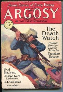 Argosy 6/10/1933-Munsey-Peter The Brazen-Loring Brent-Pater Stahr-pulp-FR