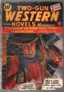 Two-Gun Western Novels #6 12/1939-gunfight-pulp thrills-Marvel-G-