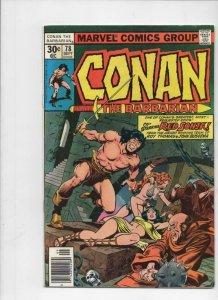 CONAN the BARBARIAN #77 78 79 VG, Buscema, Chan, Howard, 1970 1977, Red Sonja