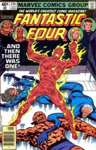 Fantastic Four (1961 series) #214, VF (Stock photo)