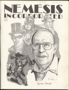 Nemesis Incorporated #28 1988-Norman A Daniels-DR Death-Sax Rohmer-FN-