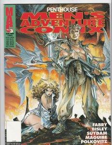 Penthouse Men's Adventure Comix #3 - Maguire - Bisley - Near Mint