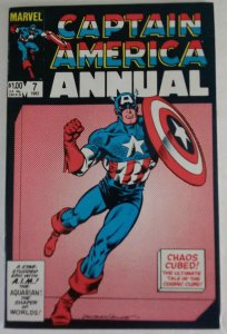 CAPTAIN AMERICA Annual #7 Marvel Comics ID#MBX2