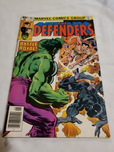 Defenders 84 Very Fine Cover pencils by Rich Buckler