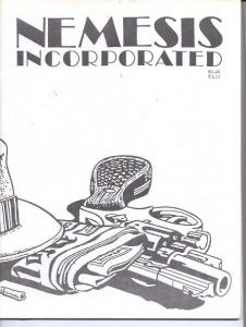 Nemesis Incorporated Fanzine #26 1988-THE SPIDER G-X Pulps FN