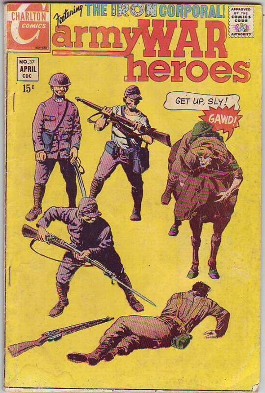 Army War Heroes #37 (Apr-70) VG/FN Mid-Grade Iron Corporal