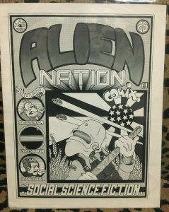 ALIEN NATION COMIX #1 First Printing ©1977 Ray Weiland VF UNDERGROUND RARE