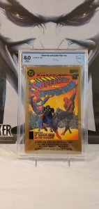 Superman & Spider-Man - CBCS 8.0 - Gold Ink Cover
