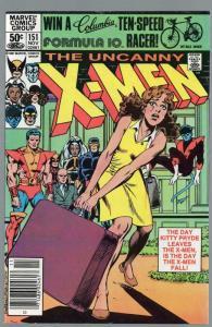 X MEN 151 FN Nov. 1981