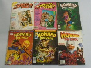 Howard the Duck magazine lot 6 different issues