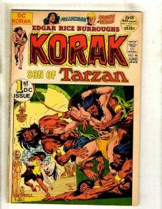 Korak Son Of Tarzan # 46 VF DC Comic Book Edgar Rice Burroughs Jungle RS2