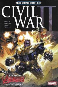 Civil War II FCBD edition #1, NM + (Stock photo)
