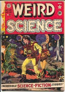 Weird Science #10 1950-EC-Wally Wood-Joe Orlando-Kamen-G+