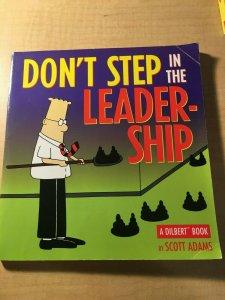 Don't Step in the Leadership by Scott Adams Book Office Humor Parody MFT2