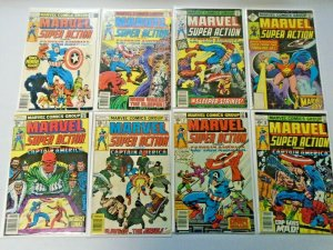 Marvel Super Action Comic Lot Run: #1-27 Average 4.0 VG (1977-1981)