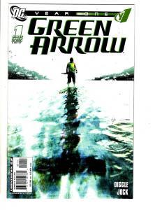 Green Arrow Year One Complete DC Comics LTD Series # 1 2 3 4 5 6 Jock Art JC12