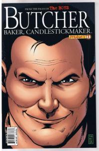 BUTCHER #1 2 3 4 5, The Boys, NM, Garth Ennis, 2011, Baker, Candlestick, 1-5 set