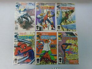 Web of Spider-Man Run: #1-13 Missing #12 12 Different Books 8.5 VF+ (1985-1986)