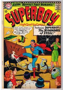 SUPERBOY #134, FN+, Clark Kent, Krypto, Smallville, 1949 , Superman