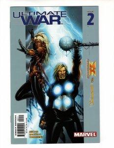 ULTIMATE WAR #2 (VF/VF+) 1¢ Auction! No Resv!