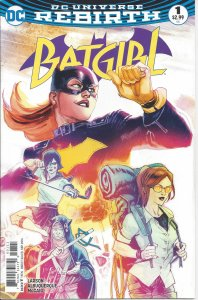 Batgirl #1 (Sept 2016) - DC Universe Rebirth - with Fruit Bat