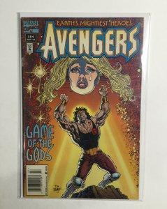 Avengers 384 Near Mint- Nm- 9.2 Marvel
