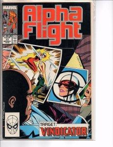 Marvel Comics Alpha Flight Vol. 1 #77 and Vol. 2 1998 Annual Inhumans
